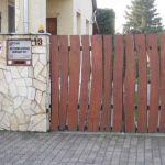 Ah Turbó Kft. bejárati kapu
