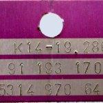 kkk azonosító táblák