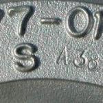 Mitsubishi turbó azonosító tábla