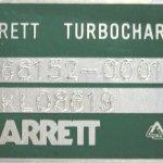 garrett azonosító tábla, zöld ezüst