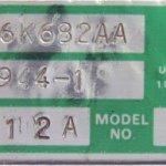 garrett azonosító tábla, zöld-fehér