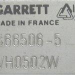 garrett azonosító tábla. szürke ezüst