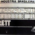 garrett azonosító tábla, fekete - ezüst
